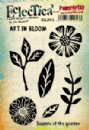 Eclectica³ Rubber Stamp Sheet by Lin Brown - ELB01
